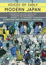 Voices of Early Modern Japan af Constantine Nomikos Vaporis