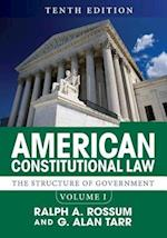 American Constitutional Law (nr. 1)