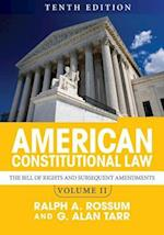American Constitutional Law (nr. 2)