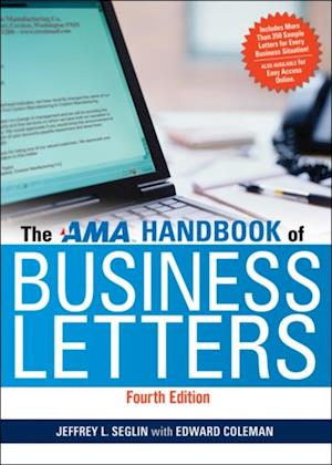 AMA Handbook of Business Letters af Edward Coleman