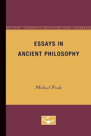 Essays in Ancient Philosophy af Michael Frede
