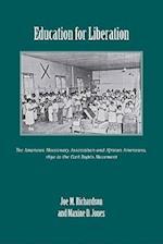 Education for Liberation af Maxine D. Jones, Joe M. Richardson