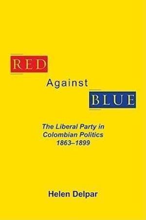 Red Against Blue af Helen Delpar