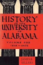 History of the University of Alabama af James Benson Sellers