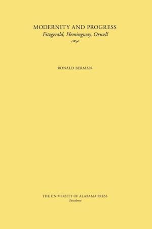 Modernity and Progress af Ronald Berman