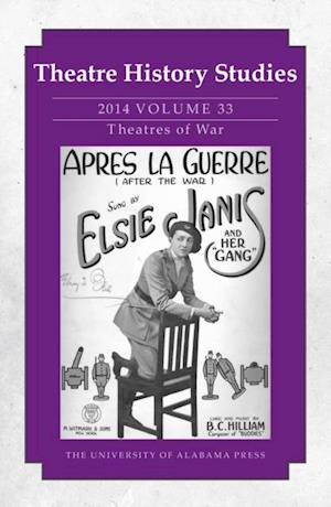 Theatre History Studies 2014, Vol. 33