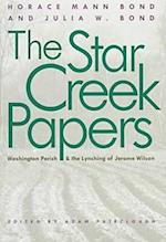 Star Creek Papers af Horace Mann Bond