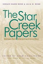 The Star Creek Papers af Horace Mann Bond, Julia W. Bond