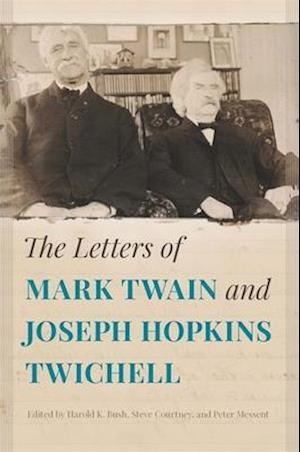 Bog, hardback The Letters of Mark Twain and Joseph Hopkins Twichell
