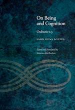 On Being and Cognition (Medieval Philosophy Texts and Studies Fup)
