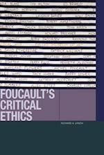 Foucault's Critical Ethics (Just Ideas Fup)