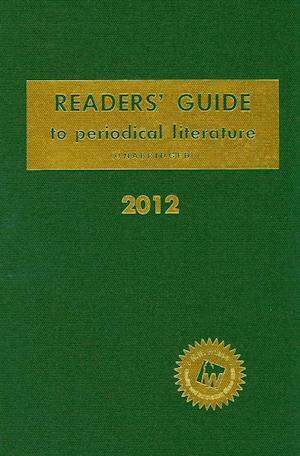 Readers' Guide to Periodical Literature 2012 af Hw Wilson