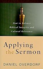 Applying the Sermon af Daniel Overdorf