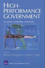 High Performance Goverment af Paul Charles Light, Robert Klitgaard