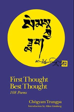 First Thought Best Thought af Chogyam Trungpa