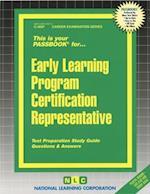Early Learning Program Certification Representative