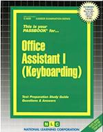 Office Assistant I (Keyboarding)