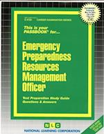 Emergency Preparedness Resources Management Officer