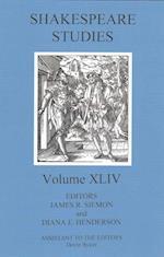 Shakespeare Studies (SHAKESPEARE STUDIES)
