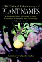 CRC World Dictionary of Plant Names af Umberto Quattrocchi