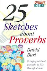 25 Sketches about Proverbs af David Burt