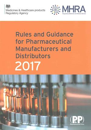 Bog, paperback Rules and Guidance for Pharmaceutical Manufacturers and Distributors (Orange Guide)