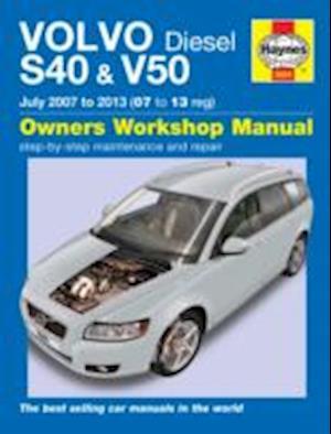 Volvo S40 & V50 Diesel Owner's Workshop Manual af Chris Randall