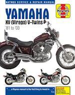 Yamaha XV Virago Service and Repair Manual af Anon