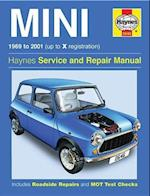 Haynes Mini 1969 to 2001 (Up to X Registration) Service and Repair Manual (Haynes Service And Repair Manual)