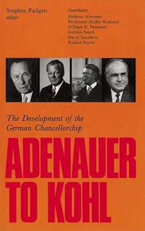 Adenauer to Kohl af Heidrun Abromeit