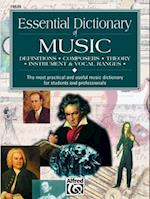 Essential Dictionary of Music (The Essential Dictionary Series)