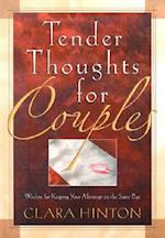Tender Thoughts for Couples af Clara Hinton