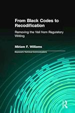 From Black Codes to Recodification af Miriam F. Williams