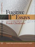 Fugitive Essays af Frank Chodorov