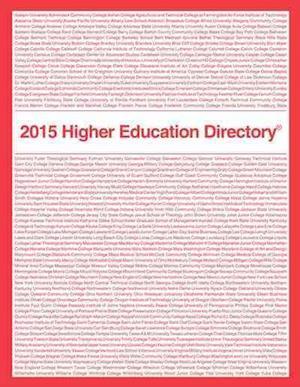 Bog, paperback Higher Education Directory af Higher Education Publications