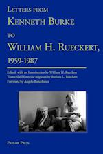 Letters from Kenneth Burke to William H. Rueckert, 1959-1987 af Kenneth Burke