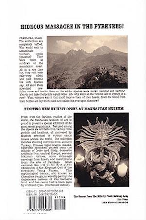 Horror from Hills af Frank Belknap Long