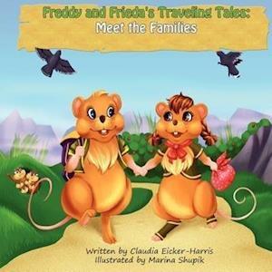 Bog, paperback Freddy and Frieda's Traveling Tales af Claudia Eicker-Harris