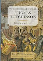 The Correspondence of Thomas Hutchinson, Volume I af Thomas Hutchinson