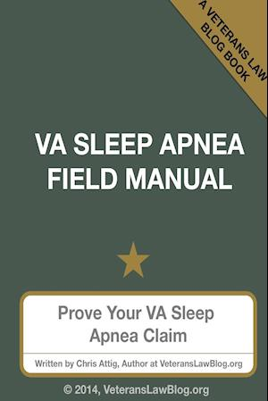 Bog, paperback Va Sleep Apnea Field Manual af Chris Attig