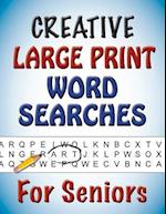 Creative Large Print Word Searches for Seniors