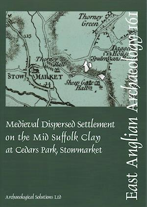Bog, paperback Medieval Dispersed Settlement on the Mid Suffolk Clay at Cedars Park, Stowmarket af Tom Woolhouse