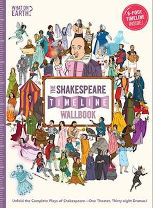 Bog, hardback The Shakespeare Timeline Wallbook af Nick Walton, Christopher Lloyd