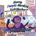 Harry Purple Monkey Dishwasher af Angela Walker