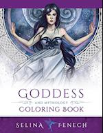 Goddess and Mythology Coloring Book