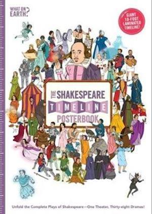 Bog, paperback The Shakespeare Timeline Posterbook af Nick Walton, Christopher Lloyd