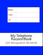 My Telephone Record Book