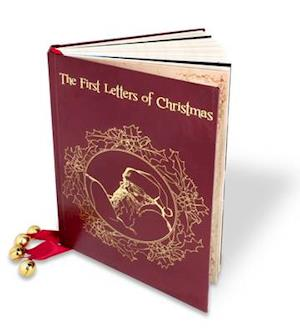 Bog, skindindbundet The First Letters of Christmas