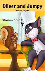 Stories for kids: Oliver and Jumpy - the Cat Series, Stories 55-57,  Book 19