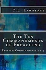 The Ten Commandments of Preaching